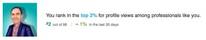 geoff linkedin profile views professional