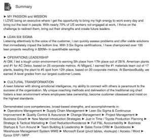 geoff linkedin summary