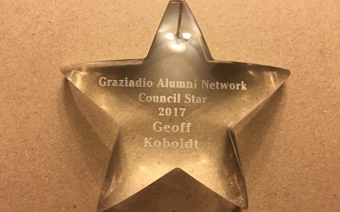 "Pepperdine University Graziadio Alumni Network Council ""STAR"" award (GAN-LA)"