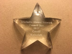 Geoff Koboldt - Pepperdine University - council star award winner