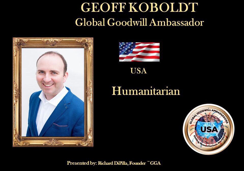 Global Goodwill Ambassador